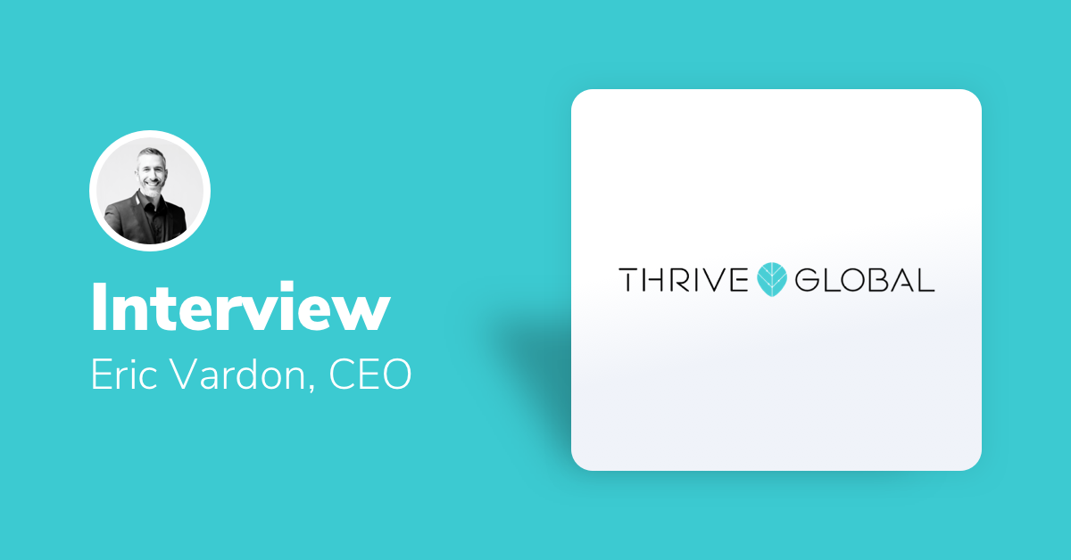 Marketing Strategies From The Top: Thrive Global Interviews Morphio CEO Featured Image